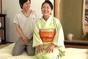 61歳還暦熟女がピンク乳首の垂れ乳でエロい!ジュボジュボおフェラ!坪井富美[ショート動画]