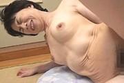 還暦間近の高齢熟女が初撮り!スレンダーな体をガン突きされ中出し悶絶!田端陽子
