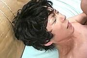 五十路高齢熟女がガンガン突かれ汗だくなって絶叫アヘ顔アクメ!石倉久子