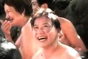 還暦熟女達が露天風呂で大乱交!初めての立ちバックに絶叫悶絶!