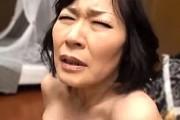 普通の還暦熟女がデカ乳輪のタレ巨乳がエロい!白目剥いてアヘ顔イキまくり!真田静江