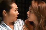 デカ乳輪の還暦熟女が娘とレズセックスで絶叫オーガズム!山本艶子