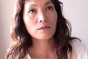 デカ乳輪でタレ乳の団地妻が出会い系の年下男でアヘアヘ!石岡景子
