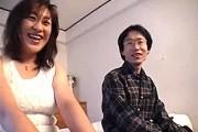 黒乳首のデカ乳輪がエロいスケベ顔熟女が淫語連発エッチ!田中芳江
