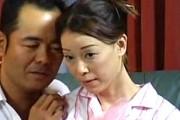 垂れ乳熟女が夫の巨根とバイブの同時責めでアヘ顔絶叫痙攣