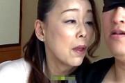 超垂れ乳のエロケバい五十路熟女が童貞の甥を言葉責めして筆下ろし!青井マリ