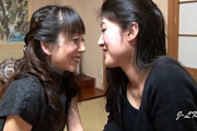 五十路熟女レズカップルの濃厚な唾液交換キス!大澤ゆかり・藤沢芳恵