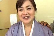 八重歯がかわいいポッチャリ還暦熟女が敏感体質で秒殺イキ!葉山のぶ子