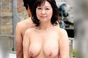 温泉宿で一線を越えた母と息子!激しいピストンに大絶叫中出し悶絶する還暦熟女!里中亜矢子