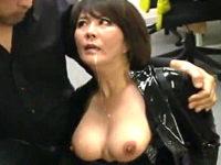 イラマチオ拷問で連続フェラ抜きさせられる熟女捜査官!円城ひとみ