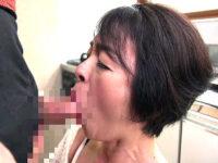 ザーメン大好きフェラ抜き還暦熟女!藍川京子