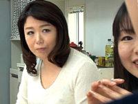 若い娘の彼氏を寝取って手コキ抜きするポッチャリ巨乳の熟女母!林原早智子