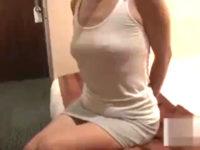 【素人投稿】スタイルいいエロケバい浮気人妻との中出しセックス