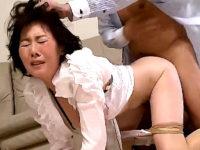 ピンク乳首の社長夫人が若い部下に中出し凌辱され泣き叫ぶ!羽鳥澄香