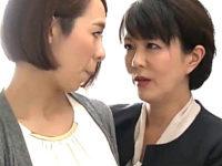 ニンジンとペニバン突っ込みマン汁垂らす卑猥な3Pレズセックス!円城ひとみ