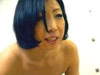 ナンパされた地味顔の五十路熟女が初アナルセックス!乳首をビンビンに勃起させてアヘアヘ!倉田江里子