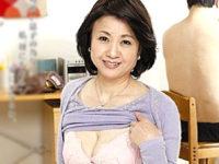 五十路熟女の母親が黒乳首の垂れ乳を揺らしてアヘ顔絶叫!江原あけみ