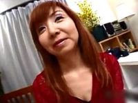 茶髪で厚化粧の若作りしたエロケバい五十路熟女がハメ撮り!橋本恵子