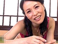 独身でヤリマンの美魔女叔母が甥っ子を誘惑してアヘアヘ!井上綾子