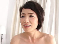 若い男とのセックスで目を輝かせる地味顔の還暦熟女!内原美智子