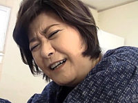 上品な還暦祖母が孫に激しくパンパン突かれ中出しエッチ!山口寿恵