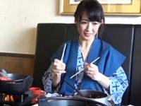 五十路美魔女の人妻が浮気旅行で露天風呂ハメ撮り!安野由美