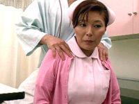 エロケバい熟女ナースが入院患者に高速ピストンされ白目を剥いてアヘ顔絶叫!樹本つばさ