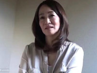 15年セックスレスの五十路熟女が旦那公認で寝取られエッチ!笹川蓉子