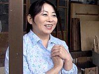 田舎に泊まろう!巨乳で豊満なバツイチ五十路熟女に中出し!山崎和子