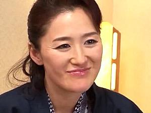 ダミ声の巨乳義母が家族旅行で娘の旦那に寝取られマジイキ!加藤英子