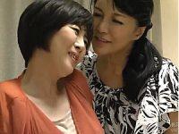 【竹内梨恵・宝田さゆり】巨乳熟女とピンク乳首の美熟女が濃厚レズセックス