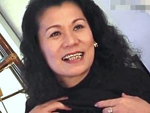 厚化粧のエロケバい還暦熟女が色っぽい声で悶える10年ぶりのセックス!庄司留美子