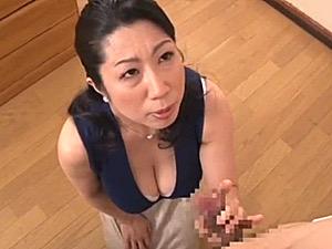 豊満な爆乳熟女が息子のガチガチ朝勃ちチンポで膣壁を擦られ叫び声をあげ大絶叫!柳留美子