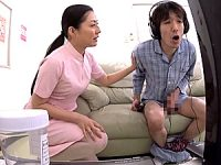 男性患者の若いペニスに欲情した熟女ナースがデカ尻を振ってエロ発情!咲良しほ2
