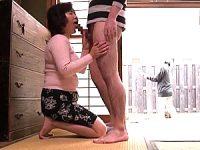 大学生の息子に和姦され逞しいチンポの虜になったポッチャリ五十路母!和田百美花