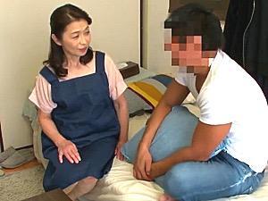 おばさんレンタルの清楚な還暦熟女が若い男性客に堕ちるまで!遠田恵未