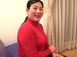 黒乳首の豊満五十路熟女が久々に触った硬いチンポに満面の笑み!真っ赤な顔でマジイキ!