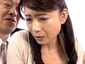 美人のお受験ママが息子のためにオヤジ教師に股を開きビクビク痙攣!三浦恵理子