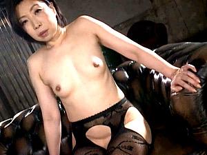 乳首とアナルが性感帯です!ショートカット五十路熟女!倉田江里子
