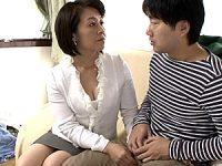 ムチムチボディで巨乳の生保熟女が男性客の強烈ピストンで鼻の穴を膨らませアヘ顔絶叫!柳田和美