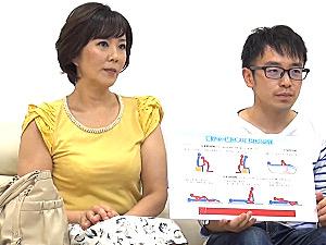 母子ソープ体験で大学生の童貞息子を筆下ろしする母親!円城ひとみ