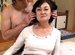 七十路お婆ちゃんが高速手マンでビクビク痙攣イキまくり!香川夕湖