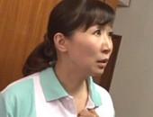 掃除のおばちゃんがパート先の若い男性と久しぶりのセックスに濡らしまくりアヘアヘ!緒方泰子