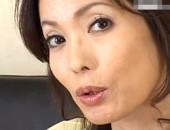 「食べられたいの?」ちょい出っ歯で口元のエロい兄嫁が主観フェラに変態オナニー!柊麗子