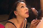 「最後まで吸い取ってあげましょうか」垂れ乳五十路熟女が腰振り騎乗位でザーメン搾り取りアヘ顔絶頂!青井マリ