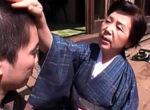 七十路祖母が大学生の孫にパンパン突かれ中出しエッチ!坂本淑子
