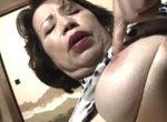 厚化粧の還暦熟女が吐息を漏らすBBAオナニー【ショート動画】森文乃