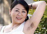 腋毛・マン毛ボーボー熟女の初撮りドキュメント!山崎和子